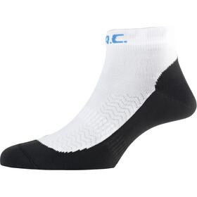 P.A.C. RN 1.0 Running Ultralight Speed Sokker Herrer, hvid/sort